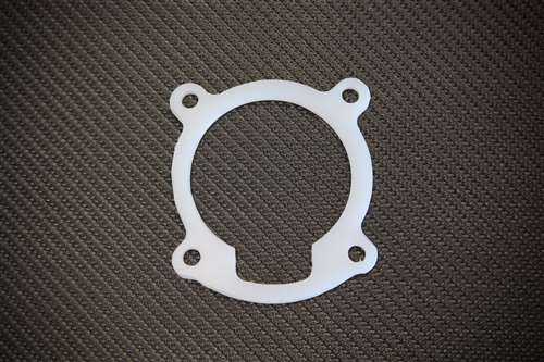 TS THROTTLE BODY SPACER GASKET COMBO SILVER FITS  GENESIS COUPE 2.0T 2010-2012
