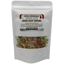 Spice Enthusiast Dried Soup Greens - 4 oz