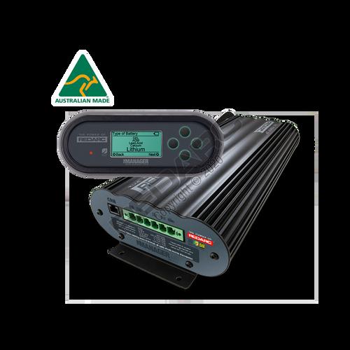 Redarc Battery Management System 12V/24V In, 12V 30A Out (Nom.) with Li Charging