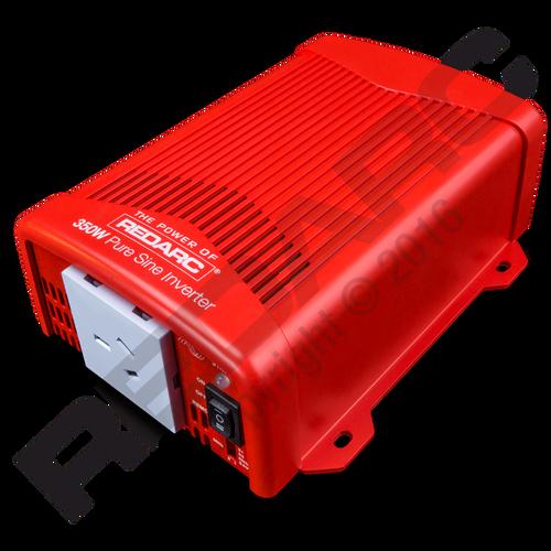 Redarc Inverter Pure Sine Wave 24V 350W