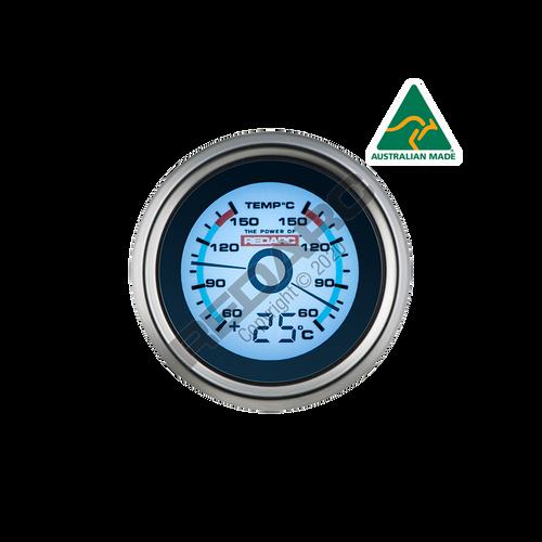 Redarc Dual Temperature 52mm Gauge With Optional Temperature Display