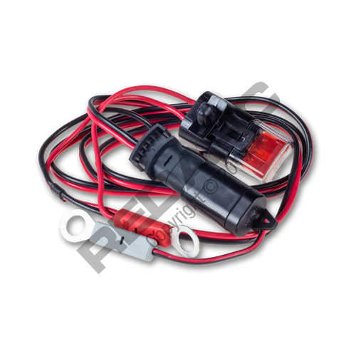 Redarc 12V Charging Cable With Ring Terminals