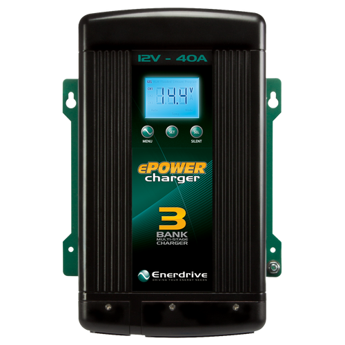 Enerdrive ePower 12V 40A Battery Charger