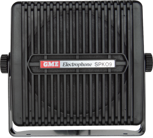 GME 4 Ohm Extension Speaker with Lead & Plug - Black
