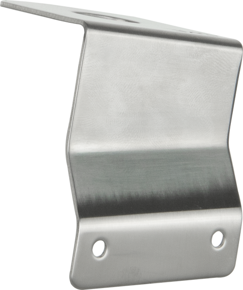 "GME 1.5mm Ford Falcon & Territory ""L"" Bracket - Driver Side - Stainless Steel"