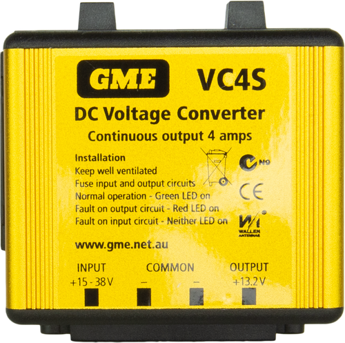 GME 4 Amp Switch Mode DC Voltage Converter