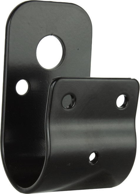 GME 38mm Wrap Around Bull Bar Bracket- Black