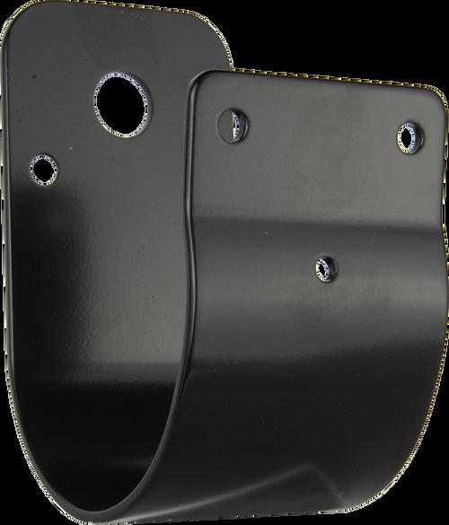 GME 76mm Wrap Around Bull Bar Bracket- Black