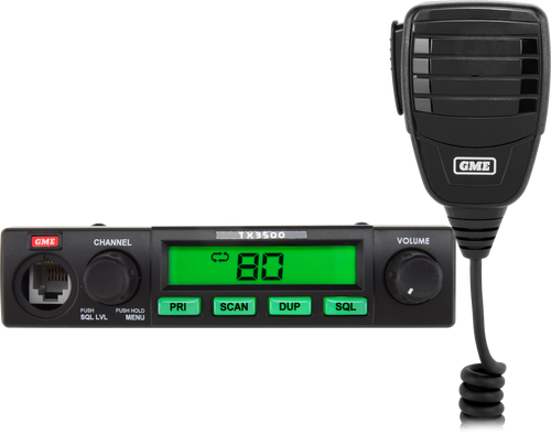 GME 5 Watt Compact UHF CB Radio with ScanSuite™