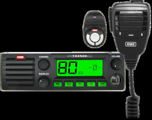 GME 5 Watt DIN Mount UHF CB Radio with Wireless PTT & ScanSuite™