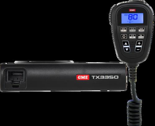 GME 5 Watt Compact UHF CB Radio with SoundPath™ Speaker Microphone