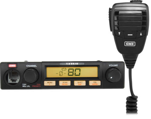 GME 5 Watt Compact UHF CB Radio with ScanSuite??TX3510S