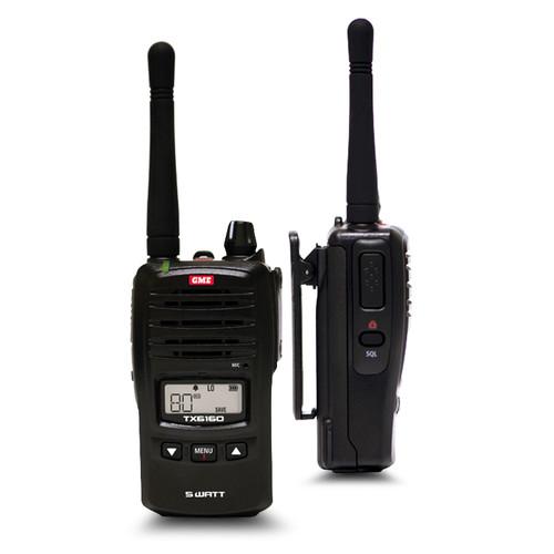 GME 5/1 Watt IP67 UHF CB Handheld Radio_TX6160X
