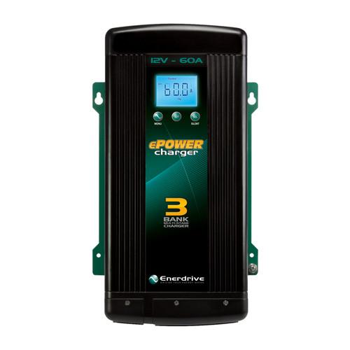 Enerdrive ePOWER Smart Charger 60amp / 12v