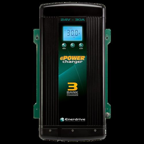 Enerdrive ePOWER Smart Charger 30amp / 24v
