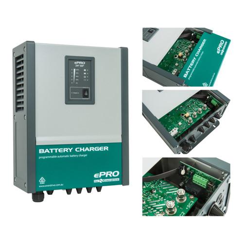 Enerdrive ePRO Battery Charger 24v / 50amp