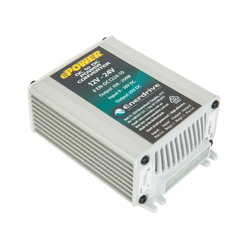 Enerdrive 12v-24v 10A DC Converter Output 25V