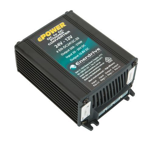 Enerdrive 24v-12v 20A DC Converter Output 13.