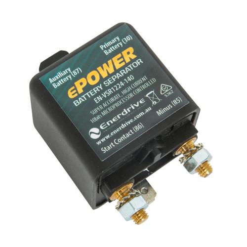 Enerdrive 12/24v-140A Dual Sense VSR Relay