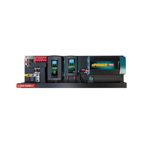 Enerdrive AGM BOARD 40A AC 40A DCDC 2000X EPRO+