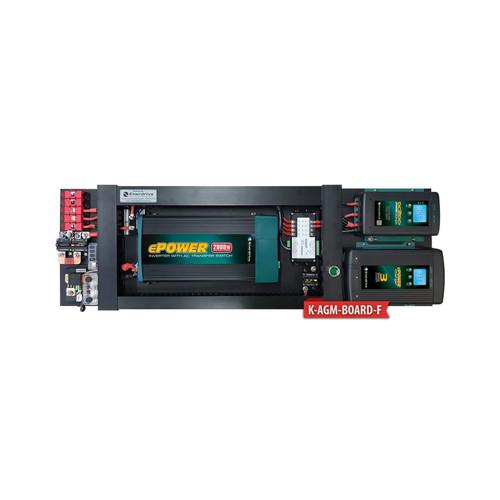 Enerdrive AGM BOARD 40A AC 40A DCDC 2000X inc SIMARINE