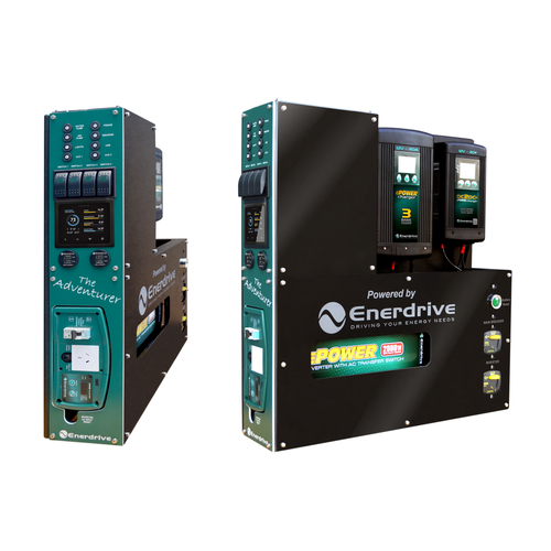 Enerdrive Adventurer System 40AC 40DC 2000X inc SIMARINE SCQ50