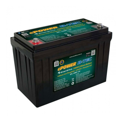 Enerdrive B-TEC 100amp / 12v LiFePO4 Battery Gen2