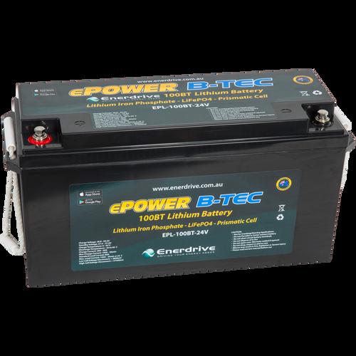 Enerdrive B-TEC 100amp / 24v LiFePO4 Battery BT