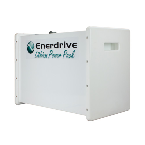 Enerdrive PRO 200Ah 24v Lithium Battery Box with ABS