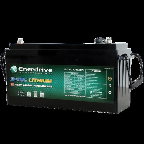 Enerdrive B-TEC 200amp / 12v LiFePO4 Battery Gen2