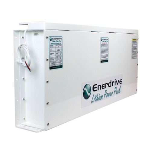 Enerdrive PRO 300Ah 12v Slimline Lithium with ABS