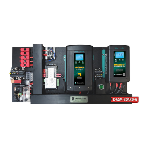 Enerdrive AGM BOARD 40A AC 40A DCDC inc SIMARINE_K-AGM-BOARD-G