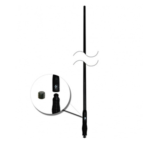 CDQ5000 - RFI - Q-Fit UHF CB Antenna 477 MHz - All Black
