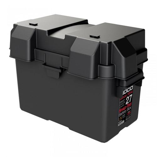"Noco Battery Box Snap Top Heavy Duty Plastic Suits 12"" (N70ZZ) Batteries"