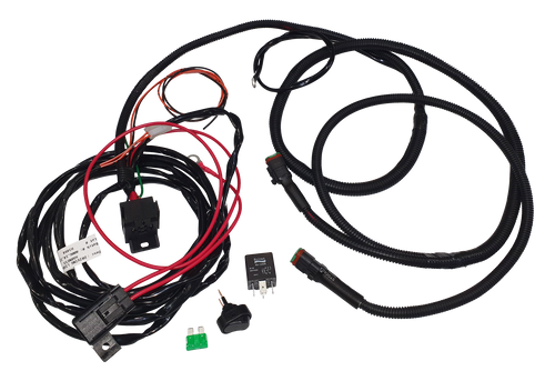 LIDL1-3P - Driving Light Loom 3 Pin Deutsch Plugs