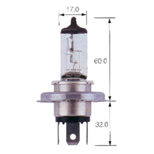 Piranha H4 - 55/100 Watt Globe