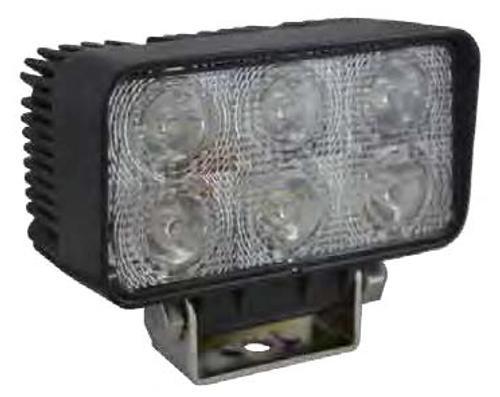 LED 18W 60º rectangular Work Light
