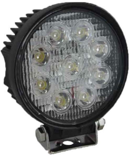 LED 27W 115mm Work Light 60º Flood Beam