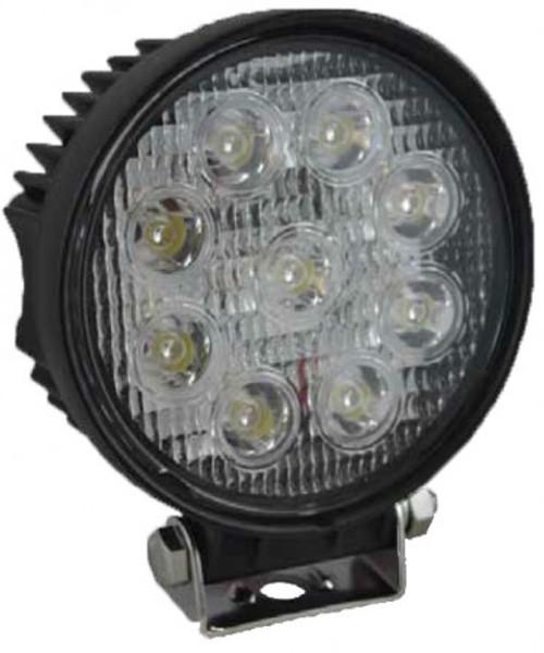 LED 27W 115mm Work Light 60? Flood Beam
