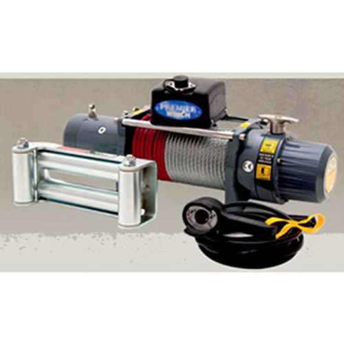 Premier Electric Winch 9,000lb - 12 Volt