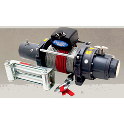 Premier Electric Winch 15,000lb - 24 Volt