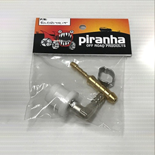 Piranha Diff Breather Adaptor to suit Mitsubishi MQ Triton and Pajero Sport
