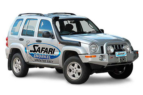 Safari 4X4 Snorkel for the Jeep Cherokee/Liberty KJ 3.7L Petrol