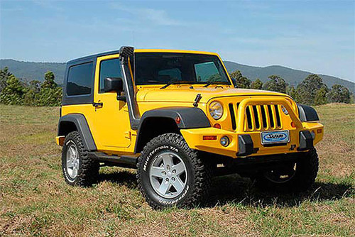 Safari 4X4 Snorkel for the Jeep Wrangler JK 2.8L Diesel (Right Hand Drive ONLY)
