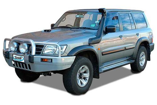 Safari 4X4 Snorkel for the Nissan GU Patrol (Y61) Series 3 ZD30DDT 3.0L Diesel
