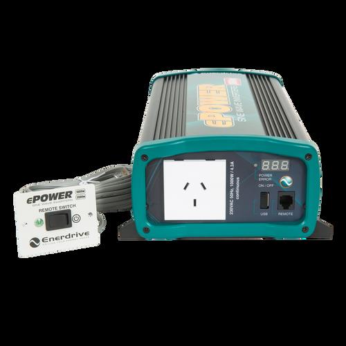 Enerdrive ePower 1000W True Sine Wave Inverter