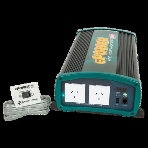 Enerdrive ePower 2000W True Sine Wave Inverter