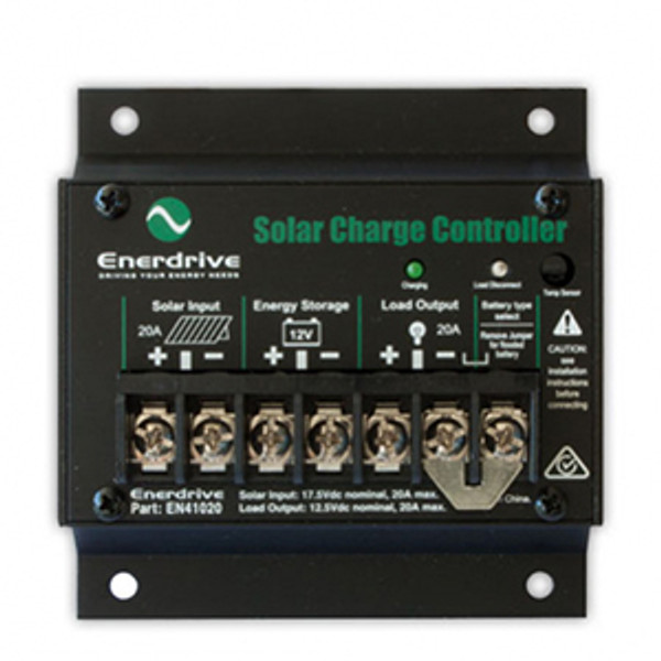 Enerdrive 20A Solar Charge Controller