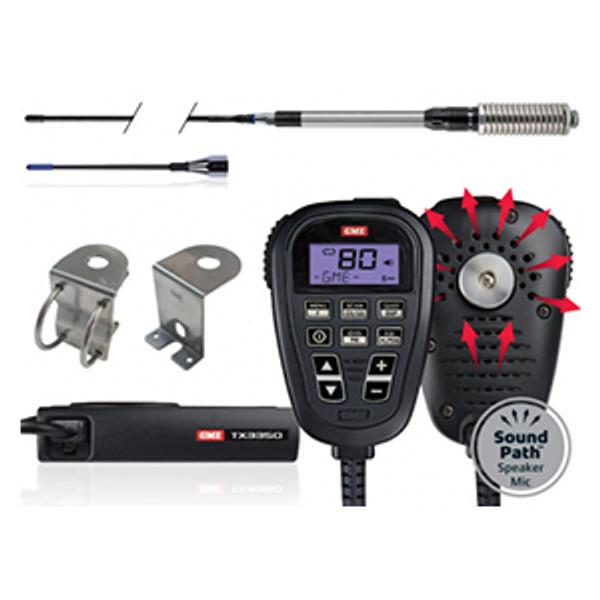 TX3350 Ultimate Value Pack - 5 Watt 80 Channel UHF Radio