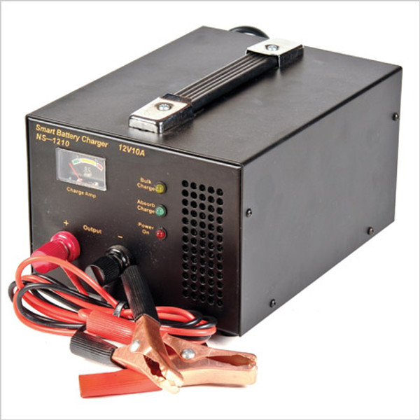 Battery Charger Automatic - 10 Amp